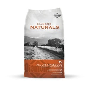 Diamond Naturals All Life Stages Real Meat Recipe Dry Dog Food Product Image