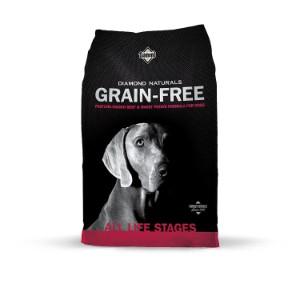 Diamond Naturals Grain Free Real Meat Recipe Premium Dry Dog Food Product Image