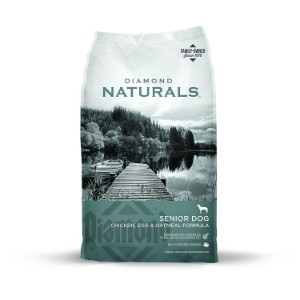 Diamond Naturals Real Meat Recipe Premium Specialty Senior Dry Dog Food Product Image