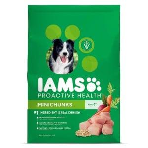 Iams Proactive Health Adult Minichunks Dry Dog Food Product Image