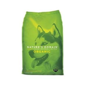 Kirkland Signature Nature's Domain Usda Organic Chicken & Pea Formula Dry Dog Food Product Image