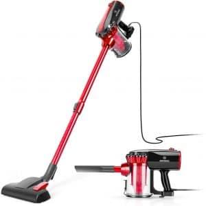 Moosoo Vacuum Cleaner Corded 17kpa Suction Stick Vacuum