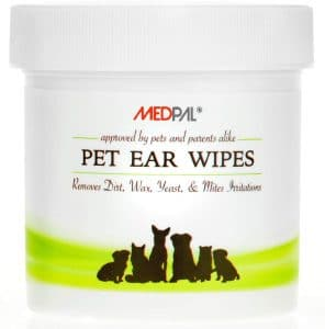 Medpal Professional Pet Ear Cleansing Wipes