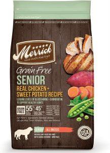 Merrick Grain Free Senior Chicken