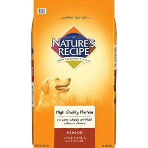 Nature's Recipe Senior Lamb Meal & Rice Recipe Dry Dog Food Product Image