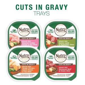 Nutro Grain Free Adult Wet Dog Food Cuts In Gravy
