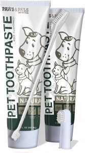 Paws & Pals Dog Toothbrush And Toothpaste