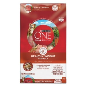 Purina One Smartblend Natural Healthy Weight Formula Adult Dry Dog Food Product Image