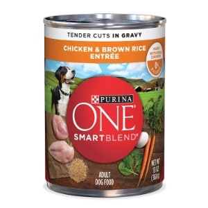 Purina One Smartblend Tender Cuts Entree In Gravy Adult Wet Dog Food Product Image