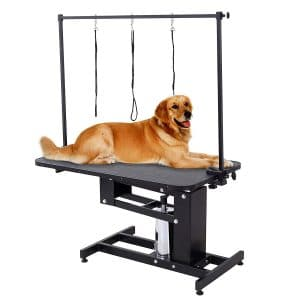 Suncoo Pet Dog Grooming Table Heavy Duty Z Lift Table