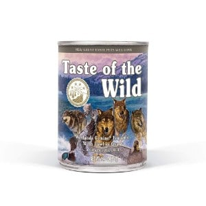 Taste Of The Wild Grain Free Real Meat Recipe Premium Wet Canned Stew Dog Food Product Image