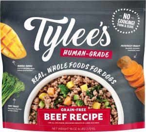 Tylee's Human Grade Beef Recipe Frozen Dog Food