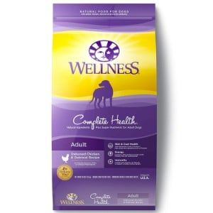 Wellness Complete Health Natural Dry Dog Food Product Image