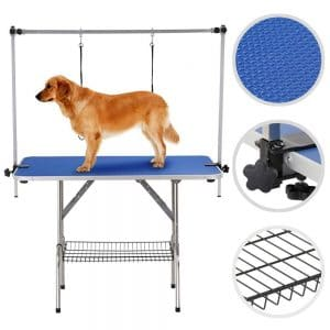 Yaheetech Pet Grooming Table For Large Dogs