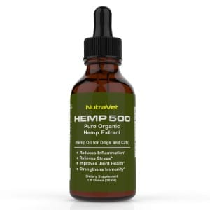 Nutravet Pure Organic Hemp Oil Extract Product Image