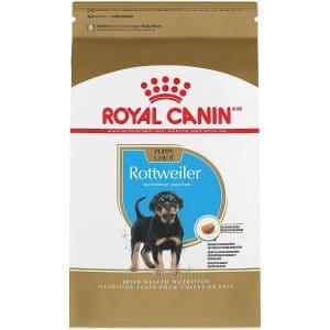 Royal Canin Breed Health Nutrition Rottweiler Puppy Dry Dog Food Product Image