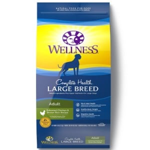 Wellness Complete Health Natural Dry Large Breed Dog Food Product Image