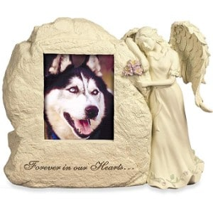 Angelstar Forever In Our Hearts Photo Frame Rock Pet Urn