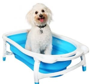 Baileybear Porta Tubby Collapsible Portable Foldable Dog Cat Bath Tub Product Image