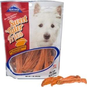 Blue Ridge Naturals Sweet Tater Fries Dog Treats