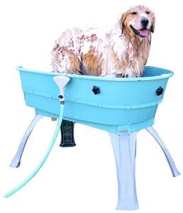 Booster Bath Elevated Dog Bathing And Grooming Center Product Image