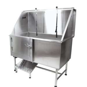 Flying Pig Grooming Professional Stainless Steel Pet Dog Grooming Bath Tub Product Image