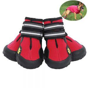 Junbo 4pcs Dog Shoes