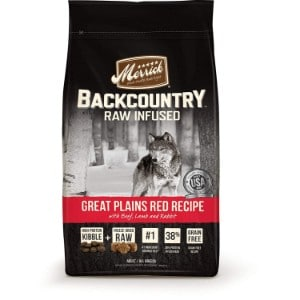 Merrick Backcountry Raw Infused Dog Food Product Image