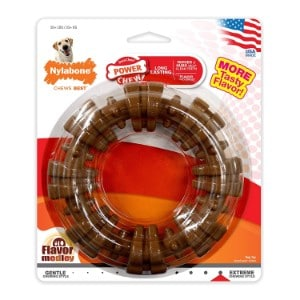 Nylabone Dura Chew Textured Ring Product Image