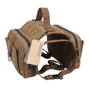 Onetigris Dog Pack Hound Travel Camping Hiking Backpack Saddle Bag Rucksack Product Image