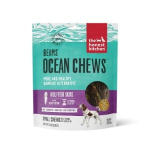 The Honest Kitchen Beams Fish Skin Chew Treats For Dogs