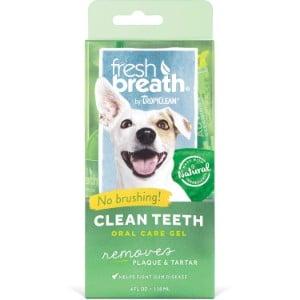 Tropiclean Fresh Breath Advanced Whitening Clean Teeth Gel Kit