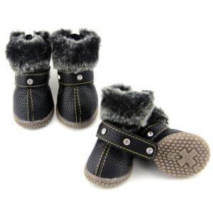 Zerotone Warm Dog Snow Boots
