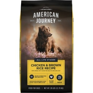 American Journey Chicken & Brown Rice Protein First Recipe Dry Dog Food