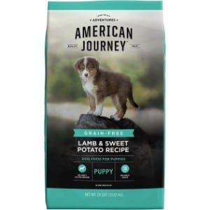 American Journey Lamb & Sweet Potato Recipe Grain Free Puppy Dry Dog Food