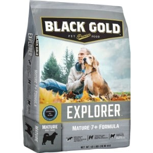 Black Gold Explorer Mature 7+ Formula Dry Dog Food