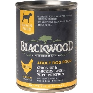 Blackwood Chicken & Chicken Liver With Pumpkin Grain Free Adult Canned Dog Food