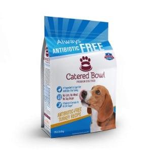 Catered Bowl Antibiotic Free Turkey Recipe Dry Dog Food
