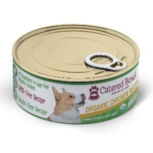 Catered Bowl Organic Chicken Recipe Canned Dog Food