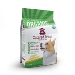 Catered Bowl Organic Chicken Recipe Dry Dog Food