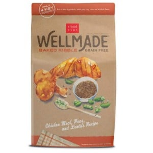 Cloud Star Wellmade Baked Chicken Meal, Peas, & Lentils Recipe Grain Free Dry Dog Food