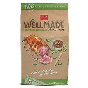 Cloud Star Wellmade Baked Lamb Meal, Lentils, & Peas Recipe Grain Free Dry Dog Food