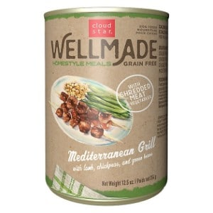 Cloud Star Wellmade Homestyle Meals Mediterranean Grill With Lamb Recipe Grain Free Canned Dog Food