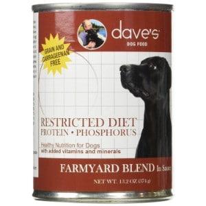 Dave's Pet Food Restricted Diet Protein & Phosphorus Farmyard Blend