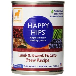 Dogswell Happy Hips Lamb & Sweet Potato Stew Recipe Grain Free Canned Dog Food