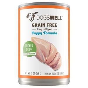Dogswell Hearty Loaf Chicken Recipe Grain Free Puppy Canned Dog Food