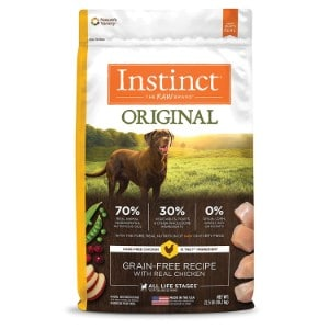 Instinct By Nature's Variety Original Grain Free Recipe With Real Chicken Dry Dog Food