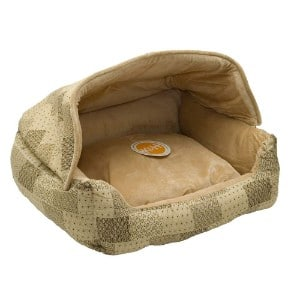 K&h Pet Products Hooded Lounge Sleeper Pet Bed