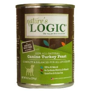 Nature's Logic Canine Turkey Feast Grain Free Canned Dog Food