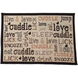 Petrageous Designs Cuddle Tapestry Placemat